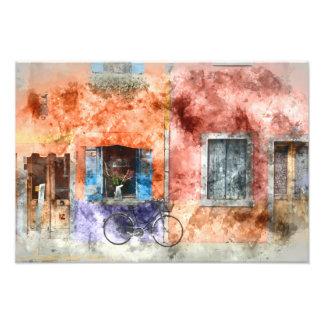 Burano  near Venice Italy Photo Print