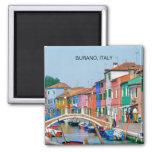 BURANO VENICE, ITALY (MAGNET)