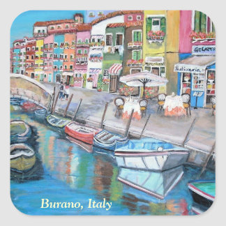 Burano, Venice -  Sticker