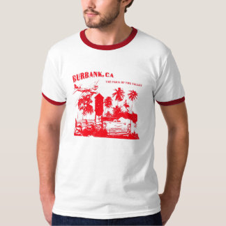 Burbank, Paris Of The Valley (red) T-Shirt