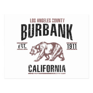 Burbank Postcard
