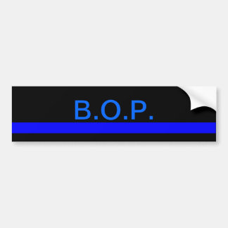 Bureau of Prisons bumper sticker