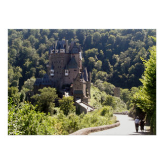 Burg Eltz castle Poster