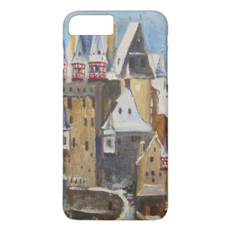 Burg Eltz oil painting iPhone 7 Plus Case