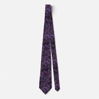 Burgandy Abstract Tie by Artful Oasis