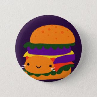 burger 2 inch round button