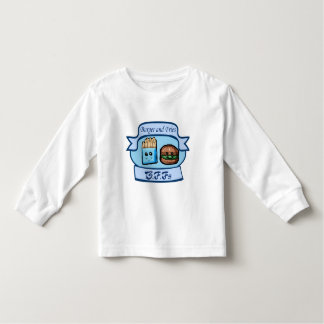 Burger and Fries BFFs Child's clothes Toddler T-shirt
