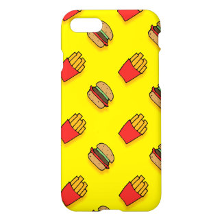 Burger and Fries iPhone 7 Case