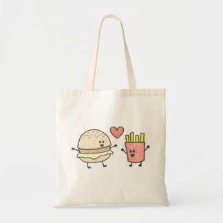 Burger and Fries Tote