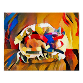 Burger - Art On Canvas Print