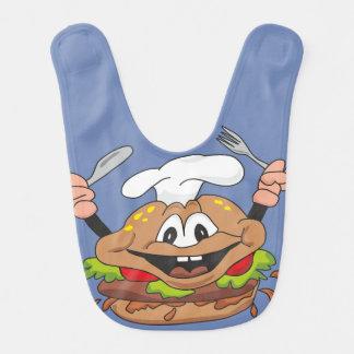 Burger Baby Bib