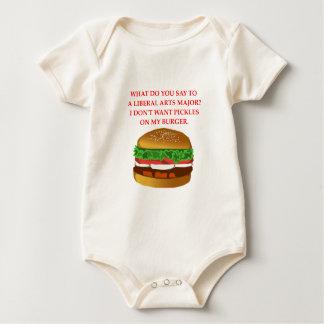 BURGER BABY BODYSUIT