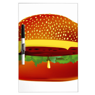 Burger Dry Erase Board