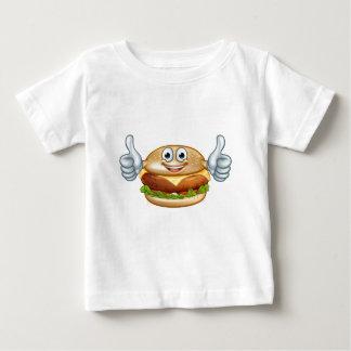 Burger Food Mascot Cartoon Character Baby T-Shirt