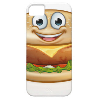 Burger Food Mascot Cartoon Character iPhone 5 Case