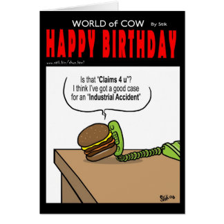 Burger Killed Card