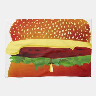 Burger Kitchen Towel
