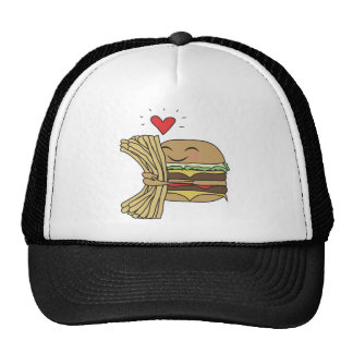 Burger Loves Fries Hat