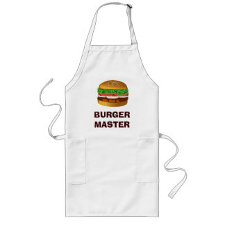 Burger Master Long Apron