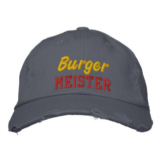 Burger Meister Embroidered Hat