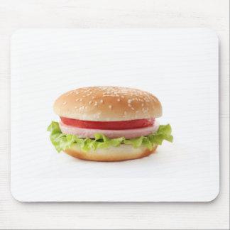 burger mouse pad