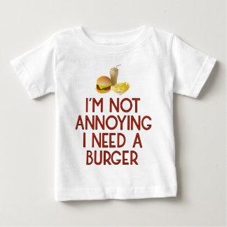 Burger nearly Food BBQ Barbecue Cheeseburger Baby T-Shirt
