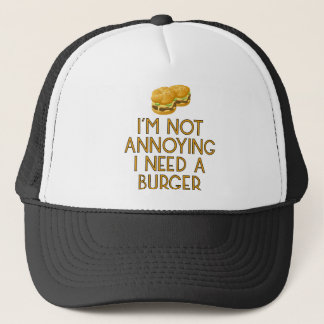 Burger nearly Food BBQ Barbecue Cheeseburger Trucker Hat