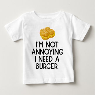 Burger nearly Food BBQ Barbecue hungry hunger Baby T-Shirt