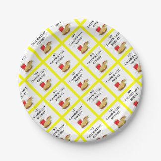 burger paper plate