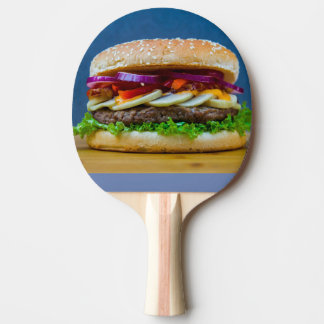 burger ping pong paddle