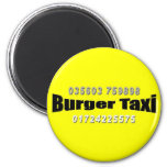 Burger Taxi Magnete