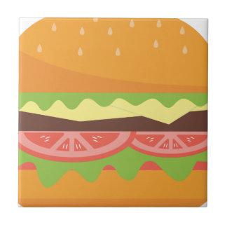 Burger Tile