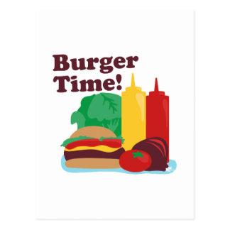 Burger Time! Postcard