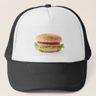 burger trucker hat