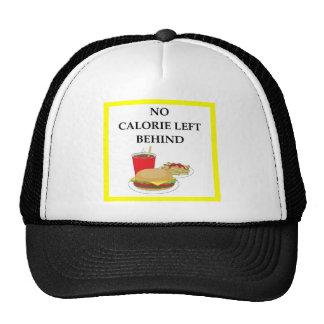 burger trucker hat