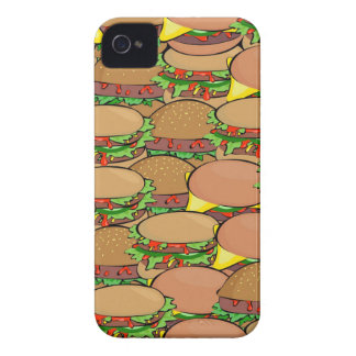 Burger Wallpaper Case-Mate iPhone 4 Case