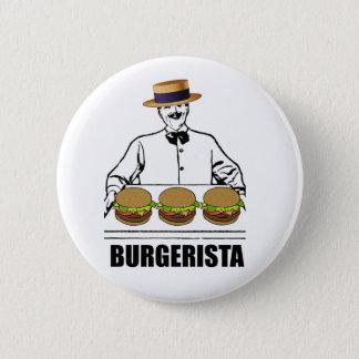Burgerista 2 Inch Round Button