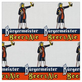Burgermeister Beer & Ale Fabric