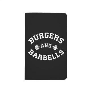Burgers and Barbells - Lifting Workout Motivation Journal