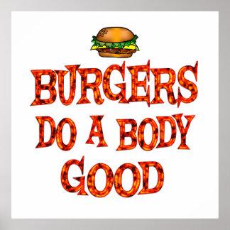 Burgers Do Good Poster