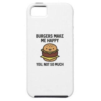 Burgers Make Me Happy iPhone 5 Case