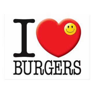 Burgers Postcard
