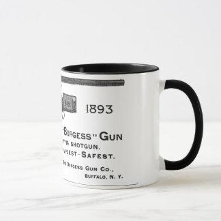 Burgess gun mug