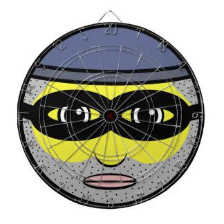 Burglar Face Dartboard