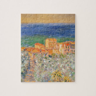 Burgo Marina at Bordighera by Claude Monet Jigsaw Puzzle