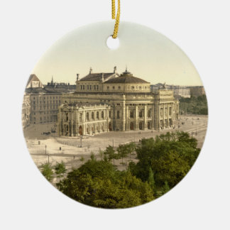Burgtheater, Vienna, Austria Ceramic Ornament