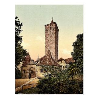 Burgthor (i.e. Burgtor), Rothenburg (i.e. ob der T Postcard