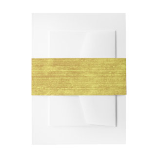 Burgundy and Gold to complement a collection Invitation Belly Band