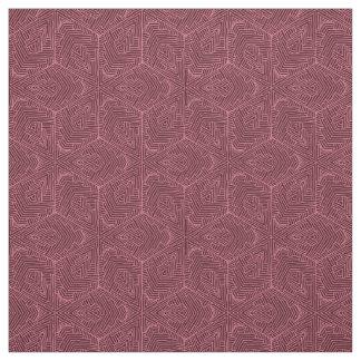 Burgundy Cotton Fabric