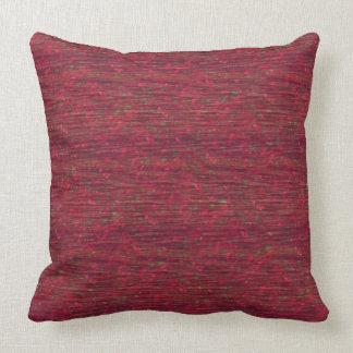 "Burgundy Crinkle Texture Print Pillow 20"" x 20"""
